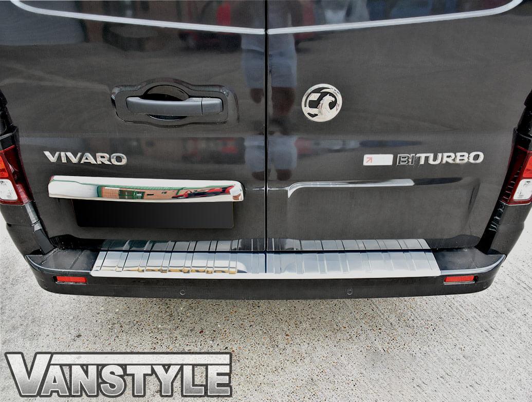 Rear Twin Door Grab Handle Trim Vivaro Trafic Talento NV300