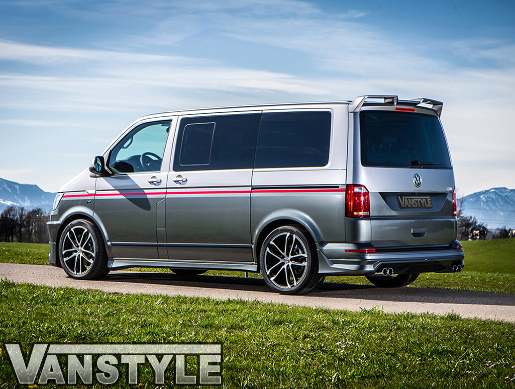 ABT Rear Upper Wing Spoiler - VW T6 T6.1 Tailgate 15>