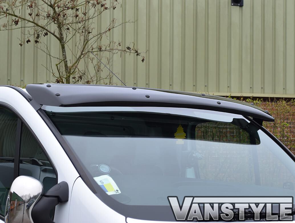 Black Acrylic Sunvisor Vivaro 01>19 Trafic Primastar 01>14 & 14>