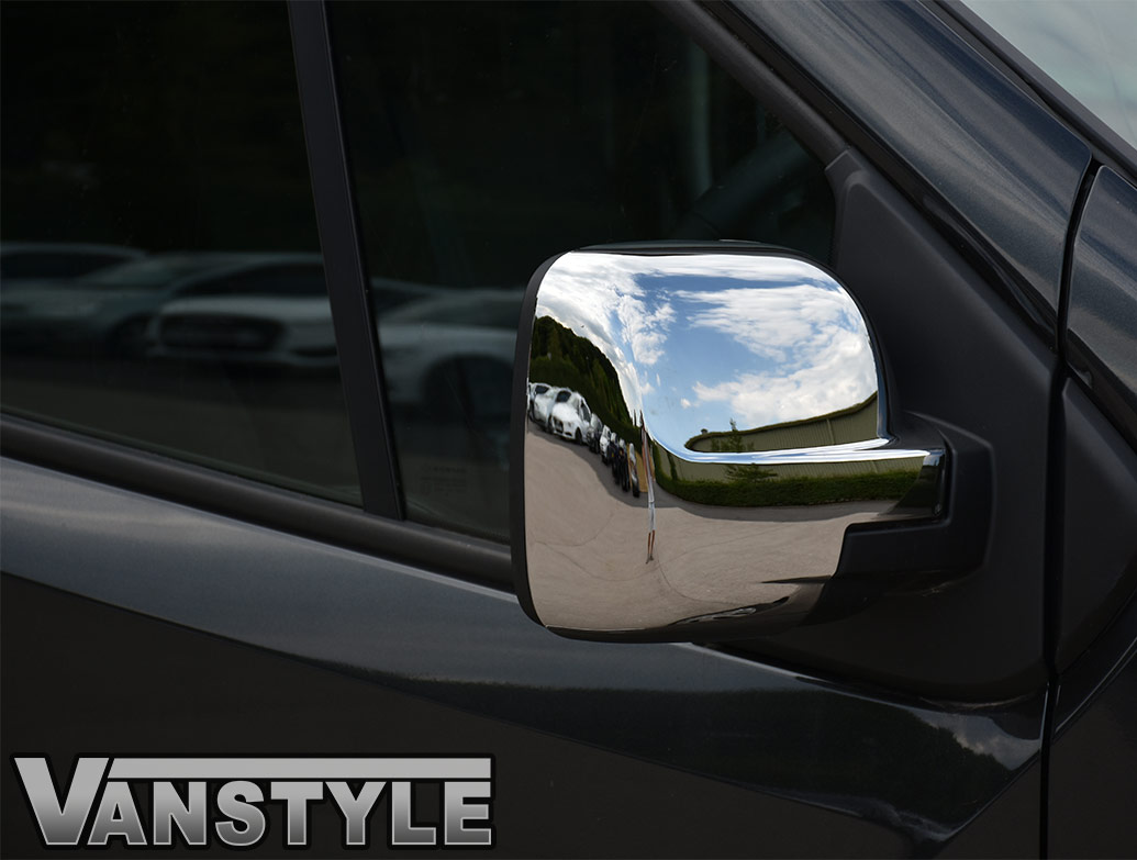 ABS Chrome Mirror Covers - Vivaro / Trafic / Talento / NV300