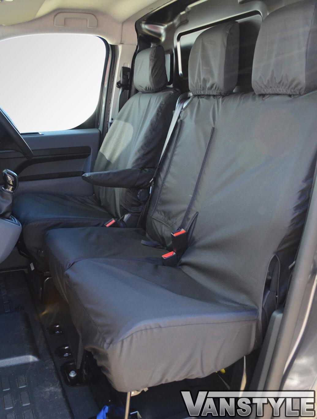 CITROEN GRAND C4 PICASSO PREMIUM CAR SEAT COVER PROTECTOR BLACK WATERPROOF