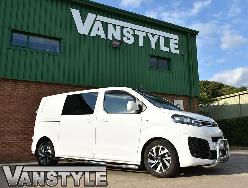 Side Wind Deflectors (Front) - Vauxhall Vivaro 2019>