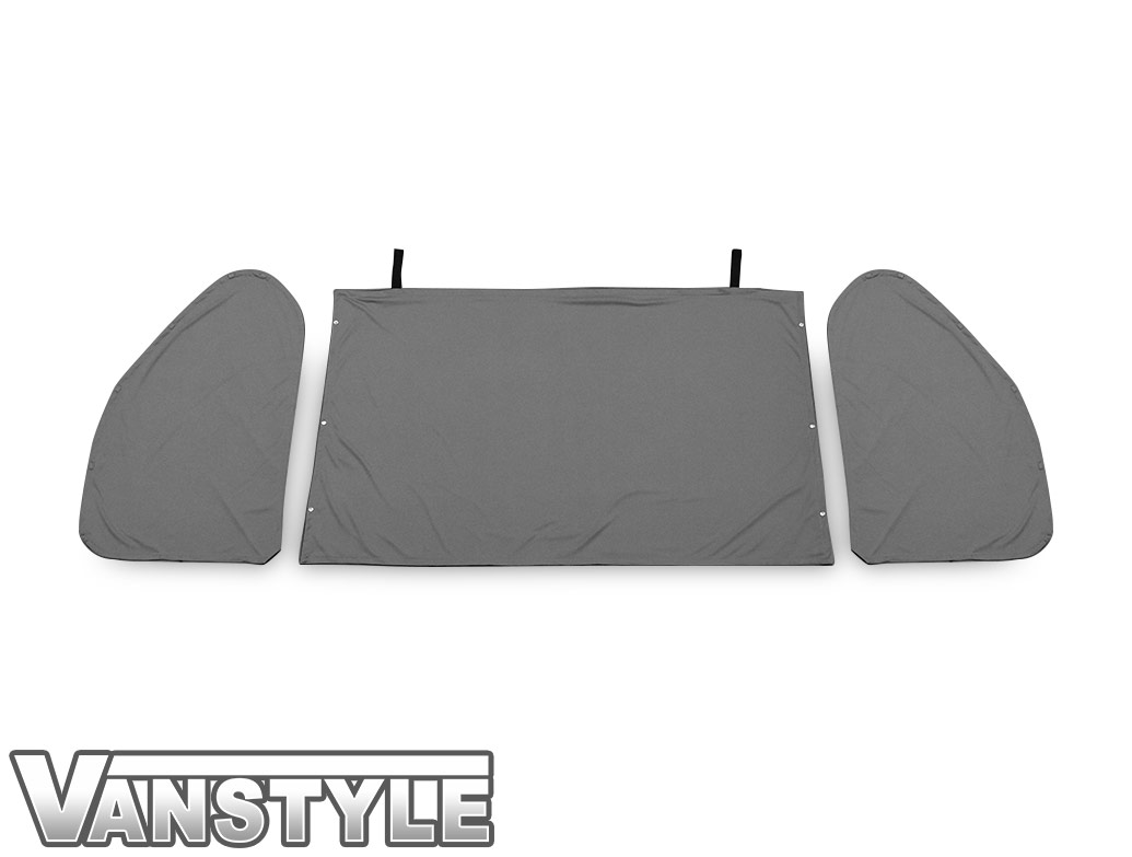 VW T5/T6 Tailored Curtain - Cab Front - Grey