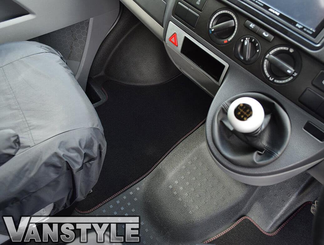 Genuine OE VW T5 / T6 Sportline Front Carpet Mats