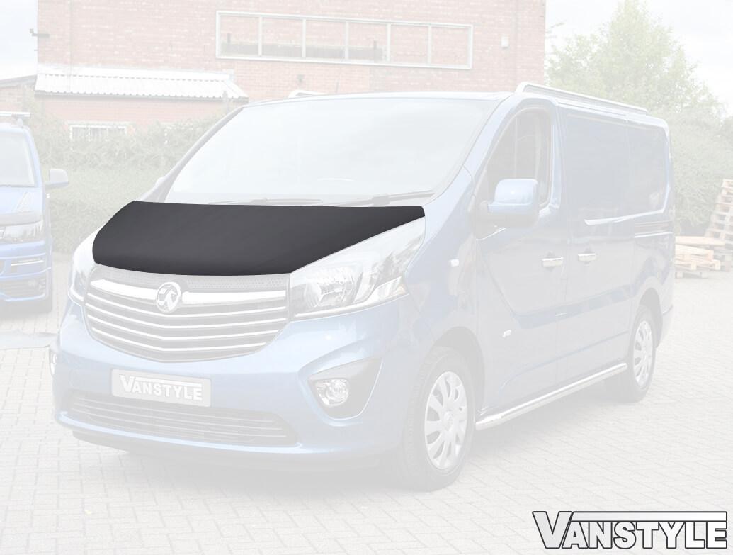 Vivaro 14>19 Talento/NV300 Plain Black Full Length Bonnet Bra