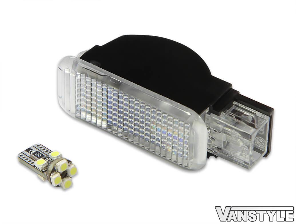 VW T5 Kombi Side Step Light & Wiring Loom + LED Bulb