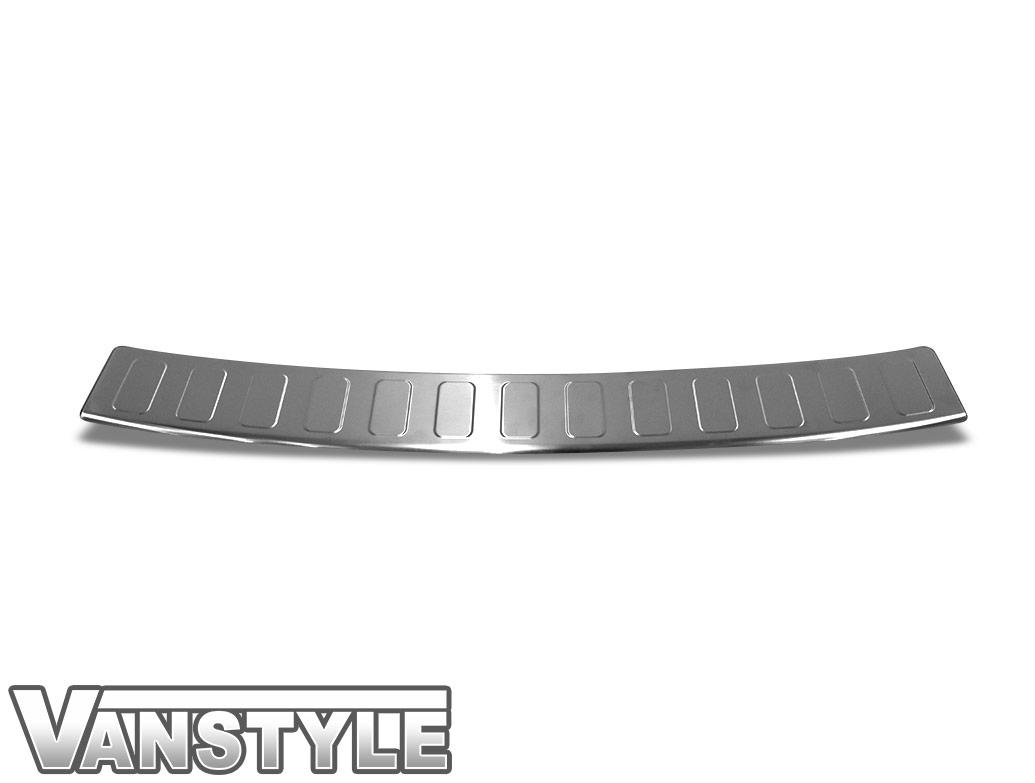 Brushed Stainless Steel Rear Bumper Protector - Vivaro L1 2019>