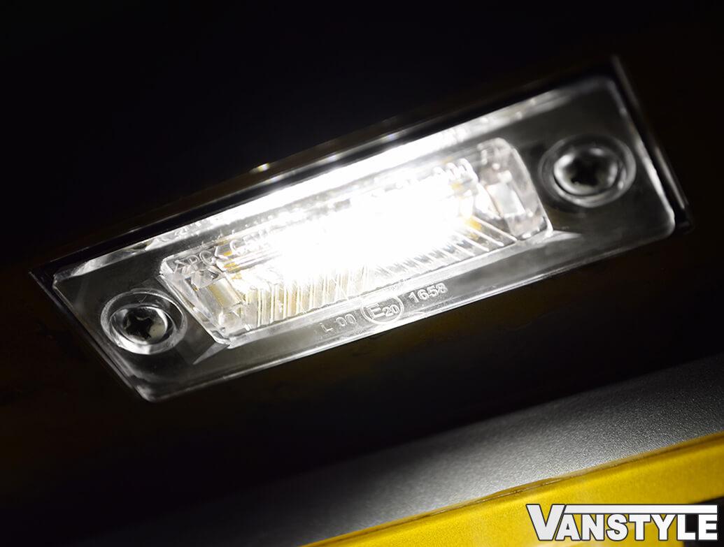 Interstar Master Movano Primastar Trafic Vivaro Rear Number Plate Lamp