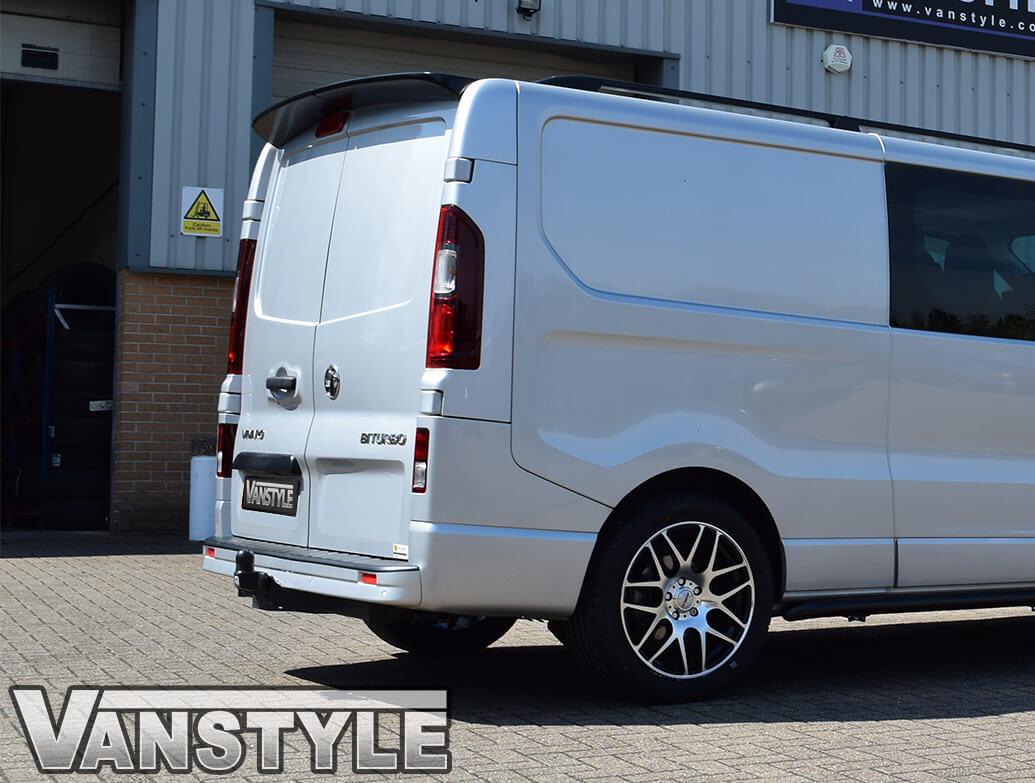 Vauxhall Vivaro/Renault Trafic - GRP Rear Twin Door Spoiler
