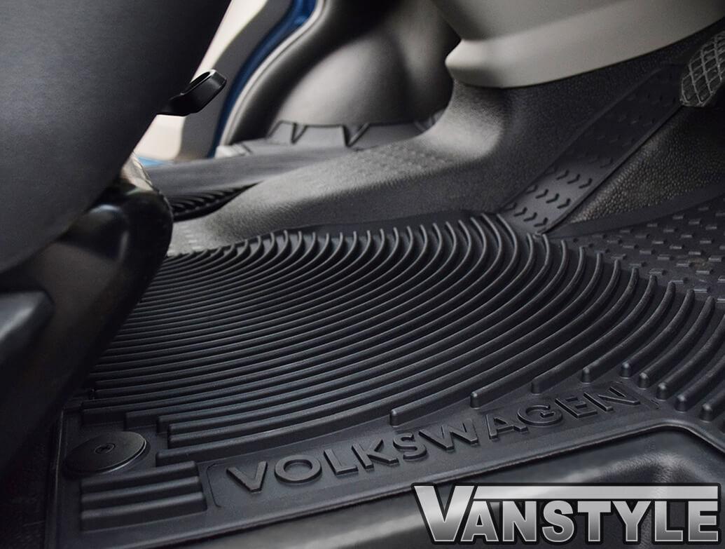 Genuine VW Heavy Duty Front Rubber Mats - Pair