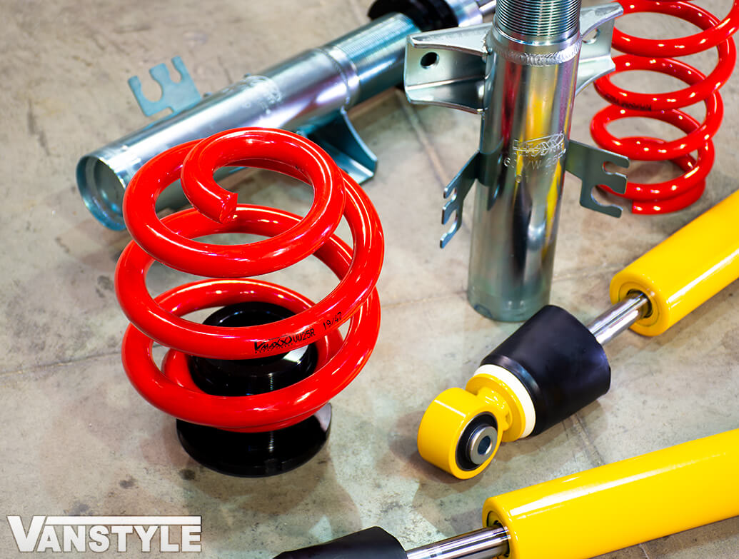 V-Maxx X-Sport Coilover Kit - VW T5 T6 03-19>
