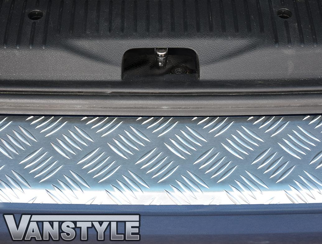3D Aluminium Bumper Protector - T6 Transporter & Caravelle 2015>