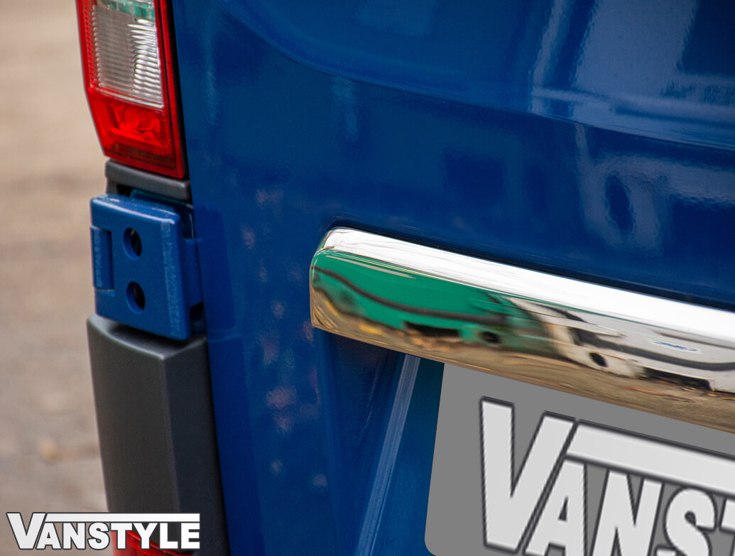Polished Stainless Rear Grab Handle Cover - Crafter/TGE 2017>