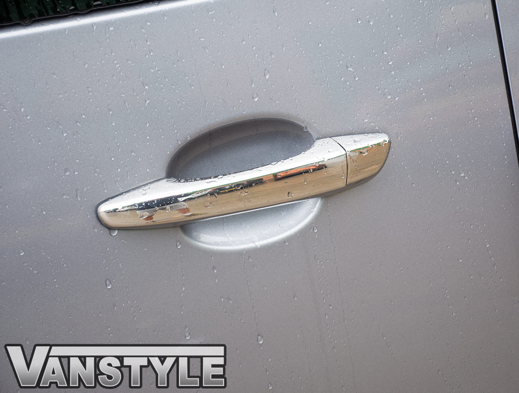 Polished Chrome Door Handle Covers - Dispatch/Expert/Proace 16>