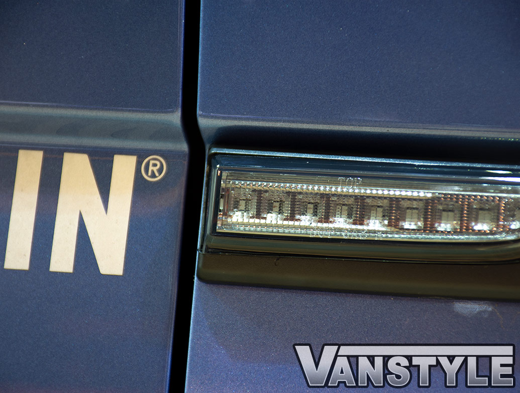 LED Non-Sequential Side Repeater Pair - Dark Smoked - VW T6 15>