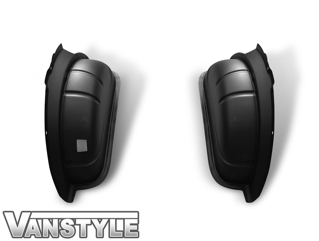 Black ABS Inner Wheel Arch Covers - SWB VW T5 / T6