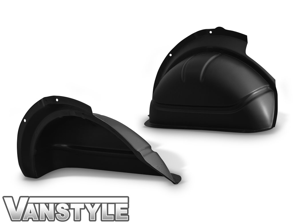 Black ABS Inner Wheel Arch Covers - SWB Single Door VW T5/T6