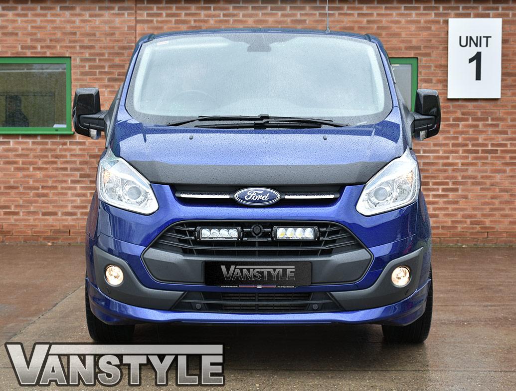 Front Lower Smoked Fog Light Units - Ford Transit Custom 12-18
