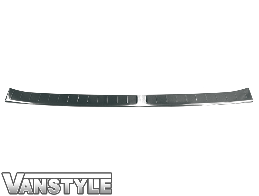 Brushed Stainless Steel Bumper Protector - Mercedes Sprinter 18>
