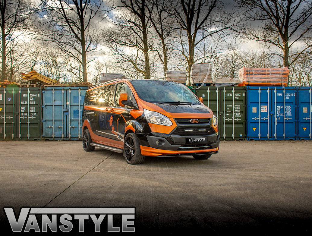 PU Sport Style Splitter & Add-On - Ford Transit Custom 12-18