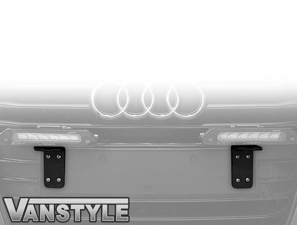 Lazer - Front Number Plate Mounting Bracket V2 - Universal Fit