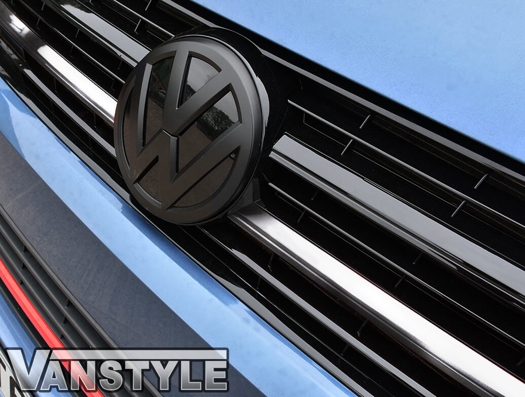 Chrome Upper Grille 2 Piece Trim Inserts - VW T6 2015>