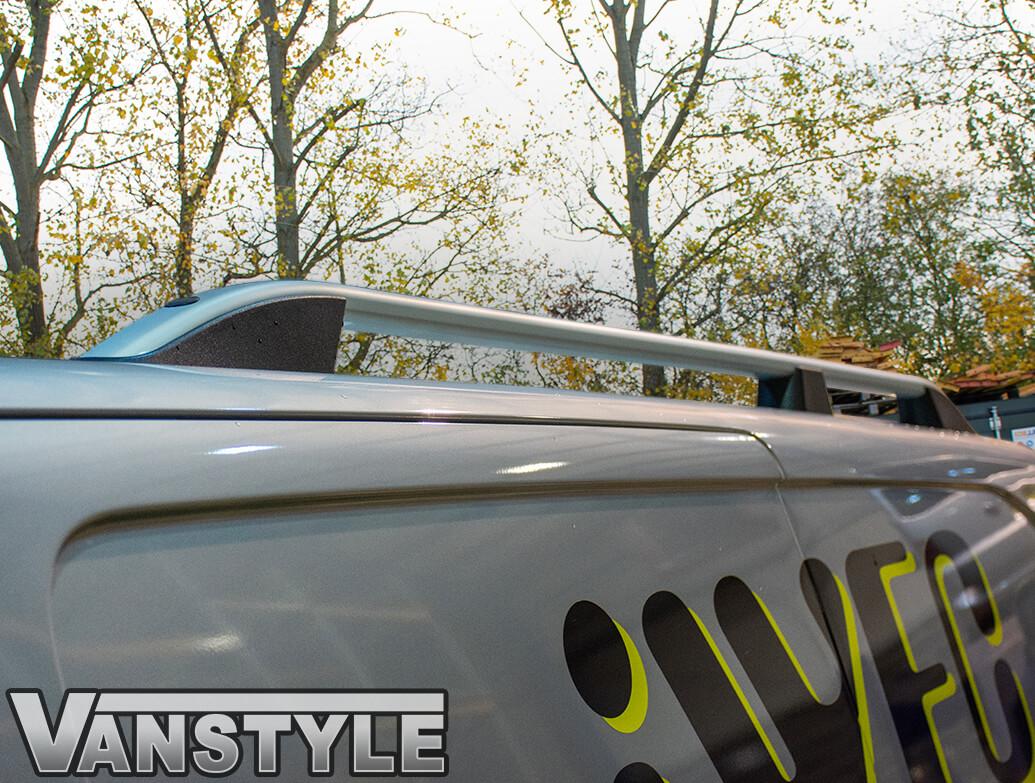 Silver Aluminium Roof Bars - Vauxhall Vivaro 2019>