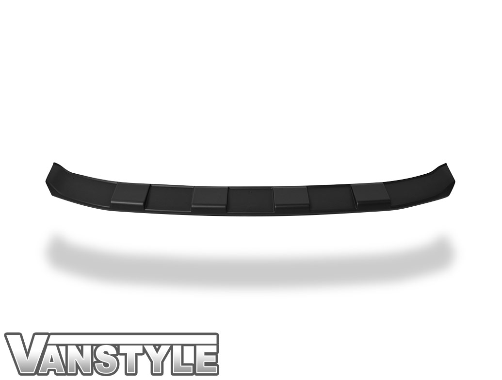 Textured Black ABS Front Bumper Protector Skid Plate - VW T6 15>