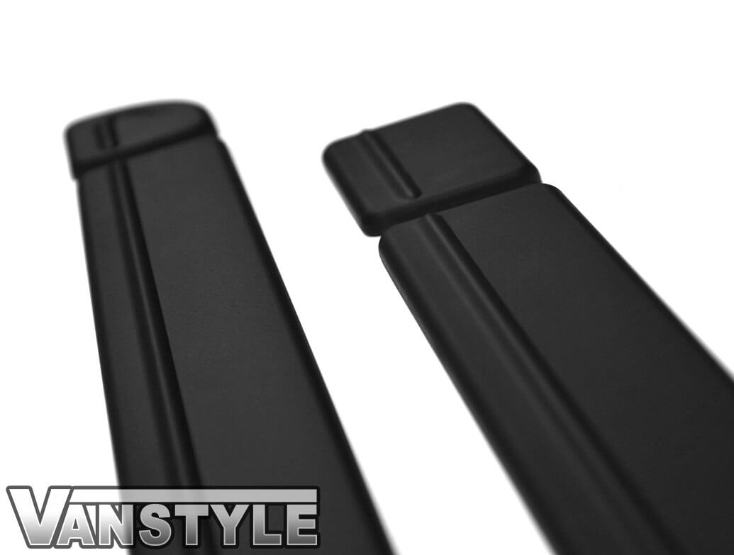 Textured Black PU Side Door Bump Strips SWB/LWB - VW T5/T6 03>