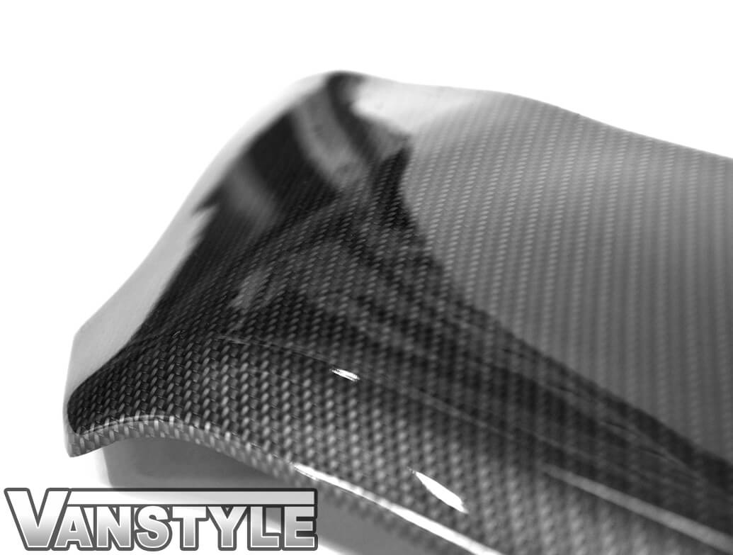 Carbon ABS Bonnet Protector - Ford Transit Custom 2018>