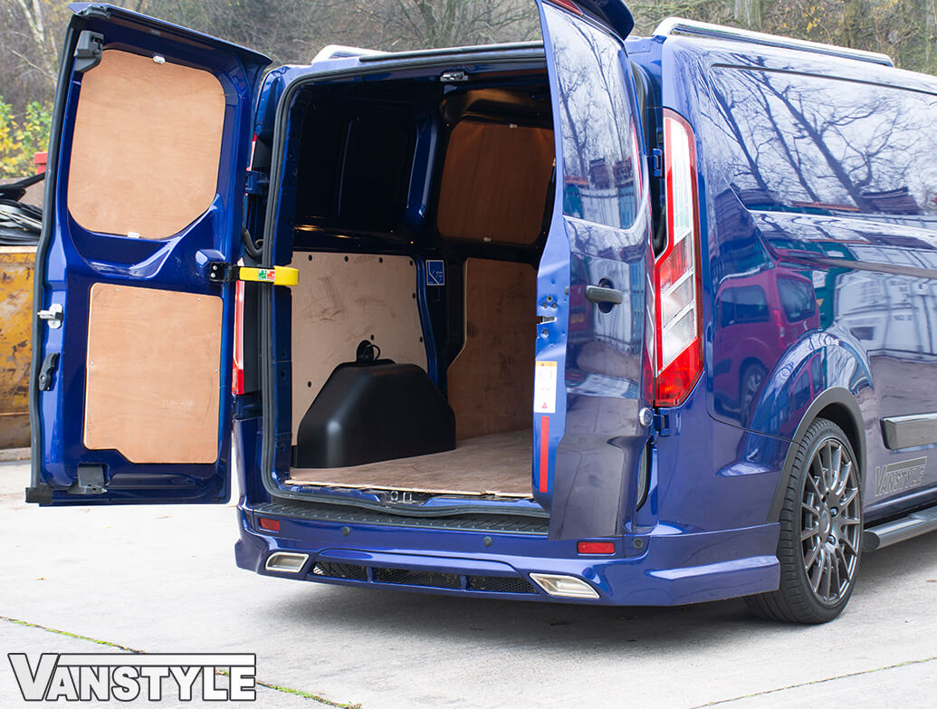 Black ABS Inner Wheel Arch Covers - Ford Transit Custom 12>18