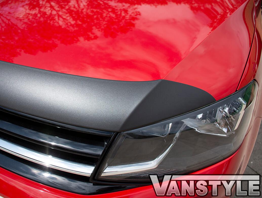 Black ABS Bonnet Protector - VW Caddy 2015>