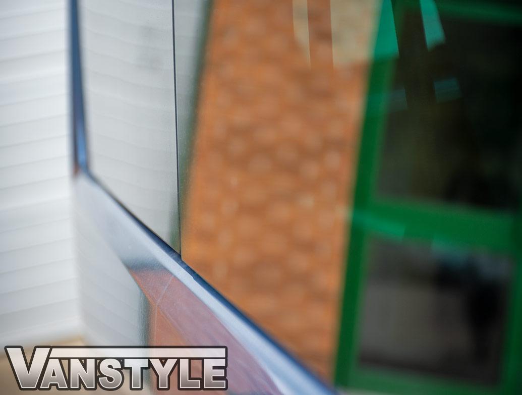 Blackout Off-Side Rear Privacy Glass w/ Fitting Kit - T5/T6 LWB