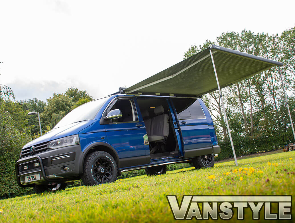 Dometic PW1500 Anthracite & Grey Awning - Vivaro Trafic 16> SWB