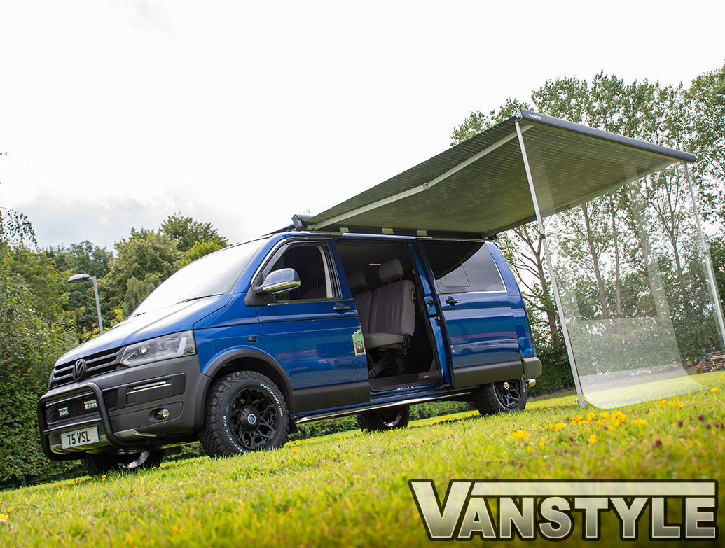 Dometic PW1100 2.6m Awning Camp Room Front Panel - VW T5 T6 SWB