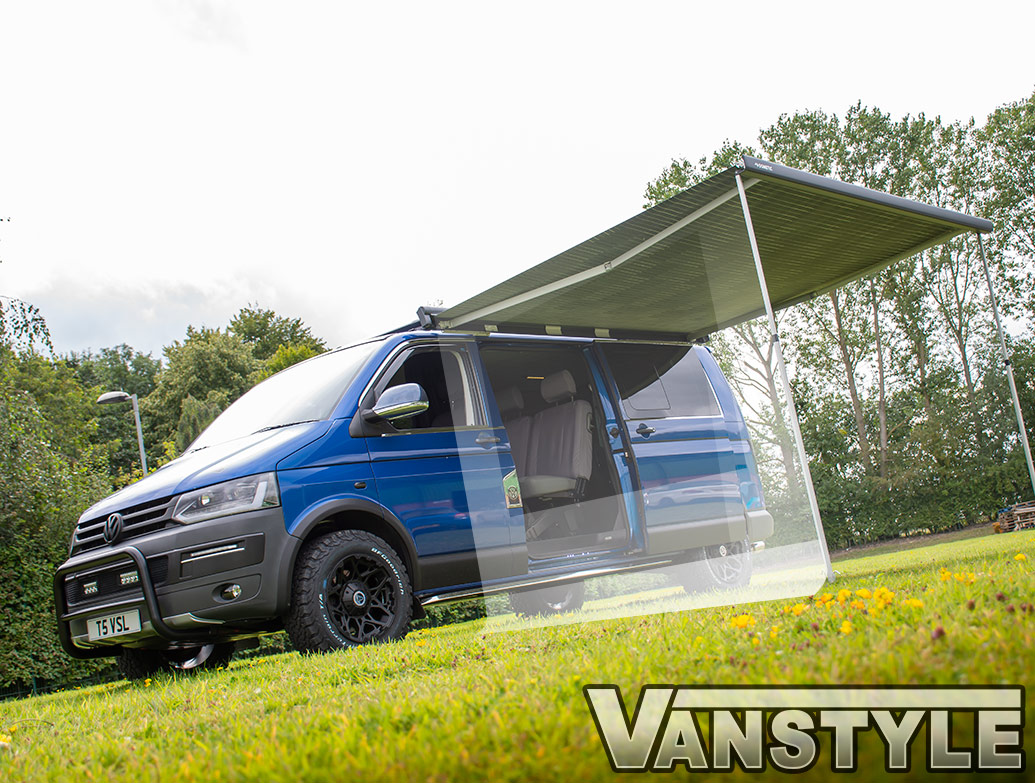 Dometic PW1100 2.5m Extension Camp Room Side Panels - VW T5 T6