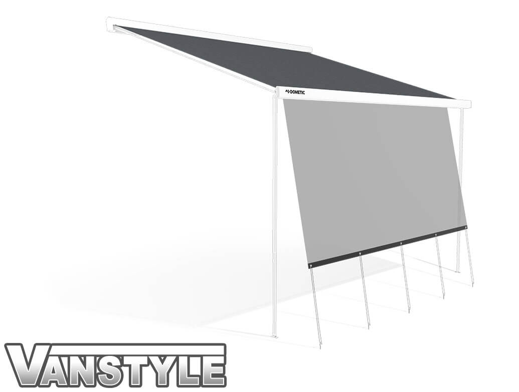 Dometic PW1500 2600mm Awning SunProtect - VW T5 T6 SWB 03>
