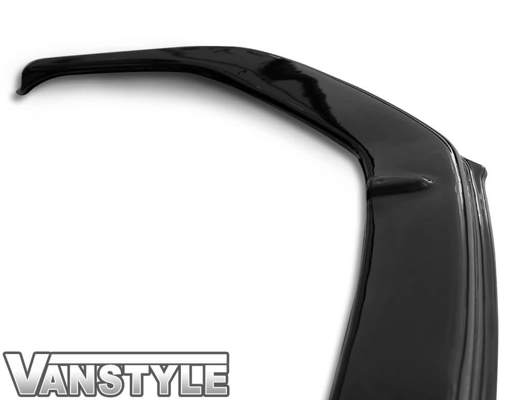 VW T6 Extra Low ABS Gloss Black Sportline Lower Lip Splitter