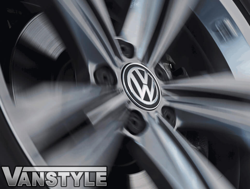 Genuine VW Dynamic (Self Levelling) Hub/Centre Caps