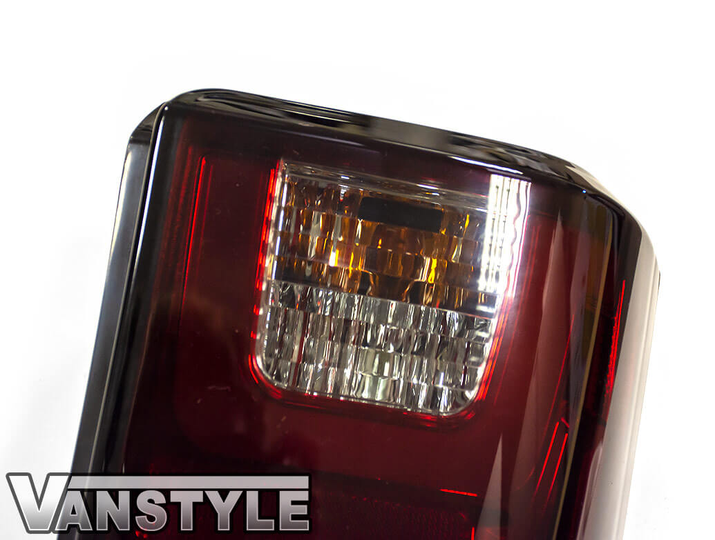 Vanstyle Dark Tint Smoked LED Rear Taillights - VW T4 90-03