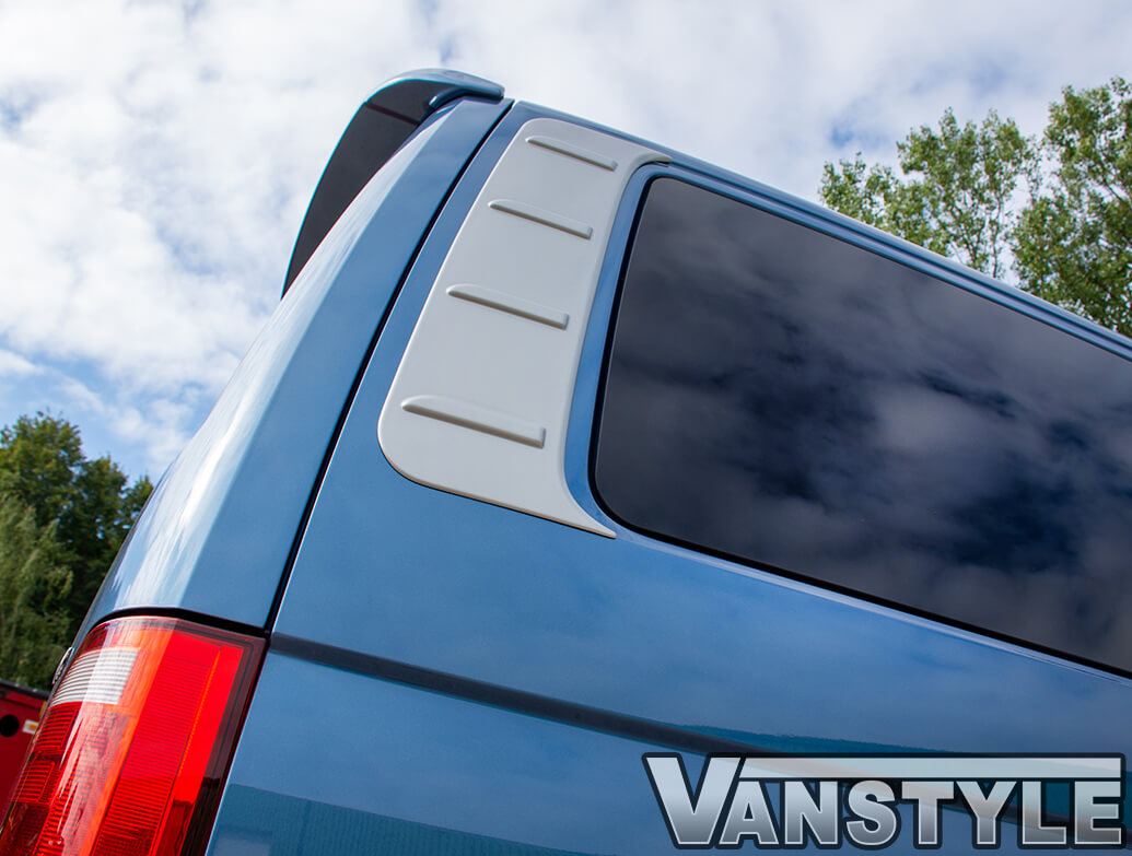 ABS Satin Silver Outer Rear Side Panels - VW T5 & T6