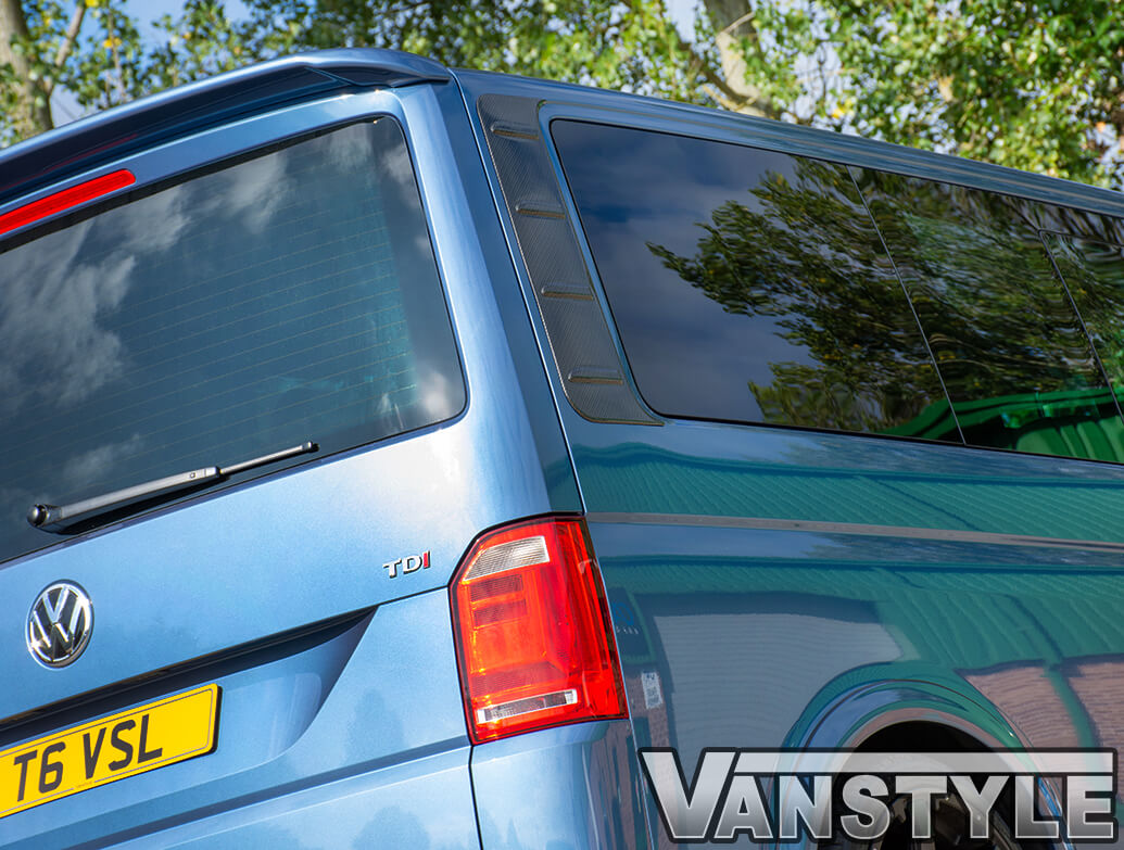 Carbon Effect ABS Outer Rear Side Panels - VW T5 & T6