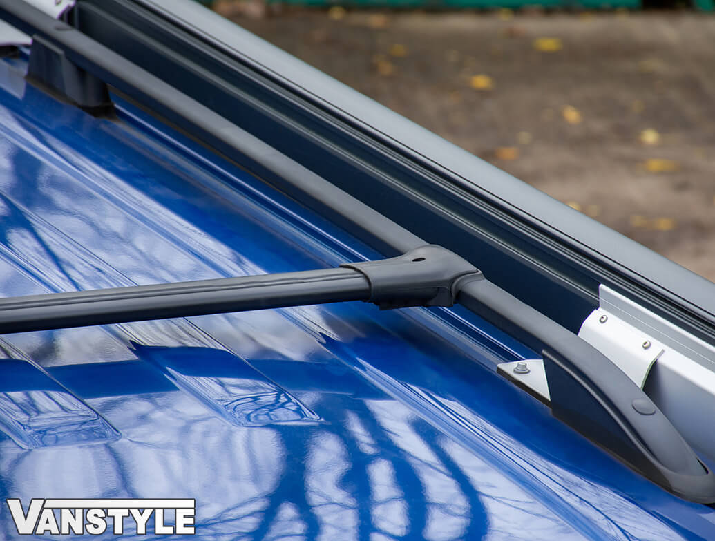 Aluminium Cross Bar Set VW T5 T5.1 03-15 & T6 T6.1 15-19>