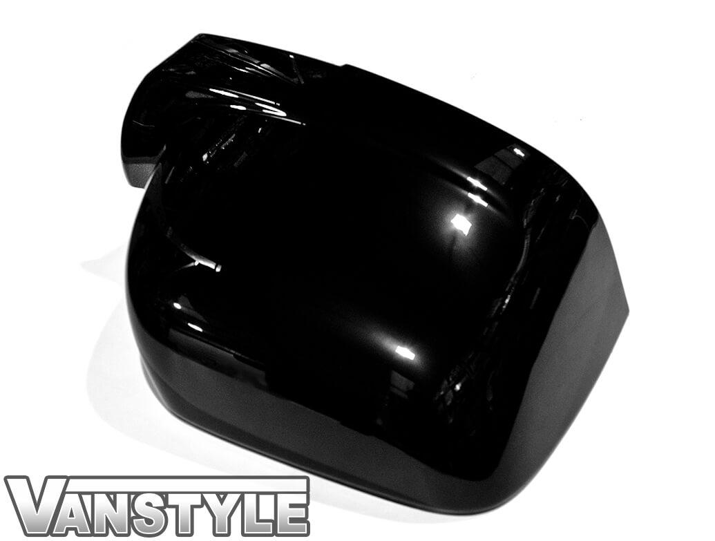 Gloss Black ABS Mirror Covers - Vivaro Trafic NV300 Talento