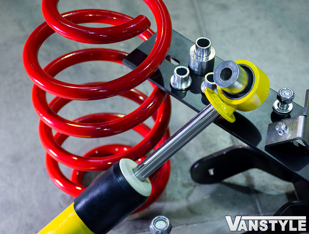V-Maxx Lowering Suspension Coilover Kit - Ford Transit Custom