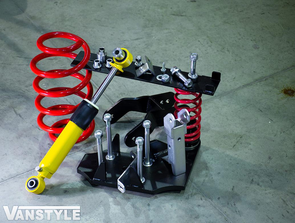 V-Maxx X-Sport Adjustable Suspension Coilover Set - Ford Custom
