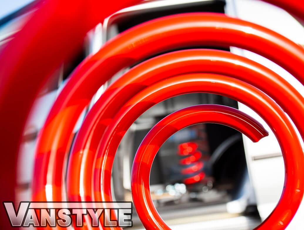 Cobra 55mm Lowering Spring & Shackle Suspension Kit - VW Caddy