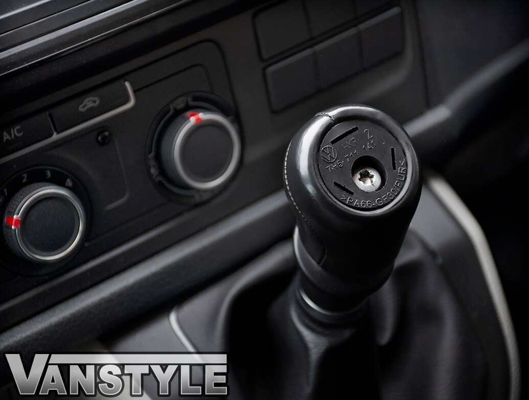 6 Speed Auto Car Gear Shift Knob Cap Cover For Volkswagen VW Transporter T5