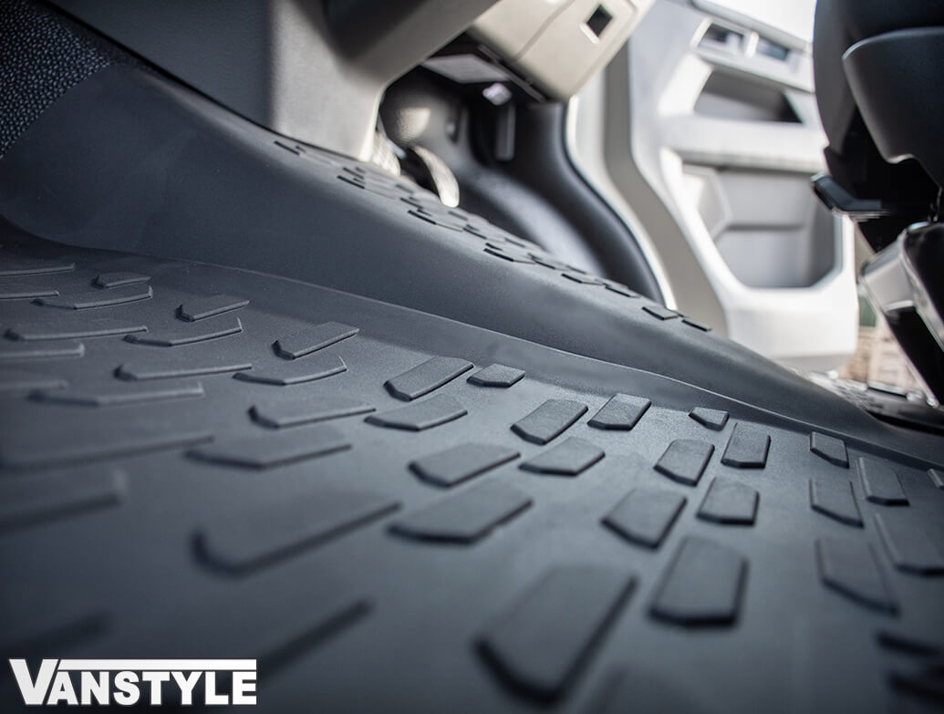 Genuine VW All-Weather Rubber Front Mats 3Pcs - VW T6.1 19>