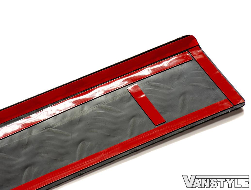 Black Aluminium Bumper Protector - Vivaro Trafic Primastar
